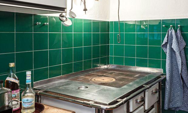 Gerüstet. Thomas Bernhard kochte nicht selbst, besaß aber in allen Häusern gut bestückte Küchen.
