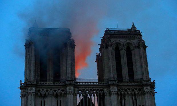 Die zwei Türme der Notre-Dame haben den Algorithmus in die Irre geleitet.