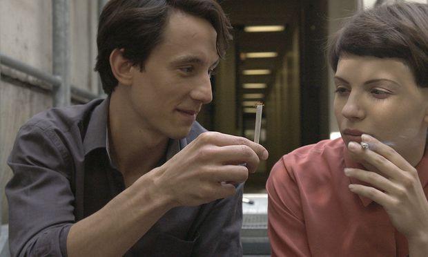 Ablenkung. Während Anja Plaschg und Laurence Rupp pausieren, wirkt das Ringen um die Sprache nach.