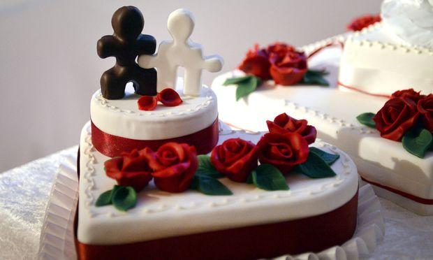 Symbolbild: Hochzeitstorte