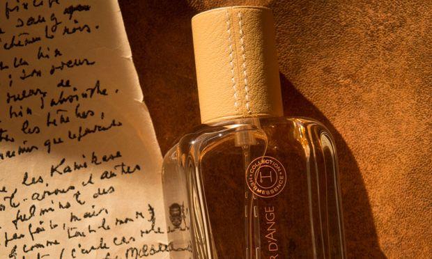 """Der literarisch inspirierte Duft """"Cuir d'Ange"""" aus der Hermessence-Kollek- tion von Hermès, nur erhältlich in Hermès-Boutiquen. 100ml Eau de Parfum um 185 Euro."""