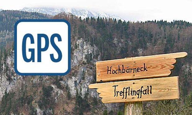 Tormaeuer Hochbaerneck rauf Trefflingfall