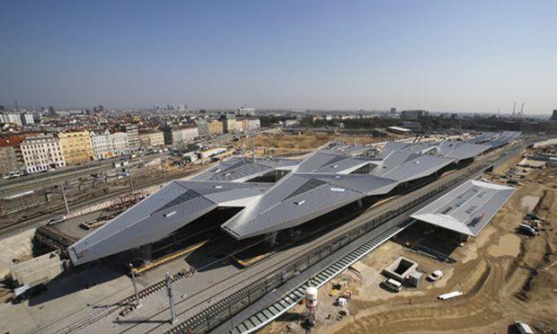 Der Langsame Start Des Wiener Hauptbahnhofs Diepressecom