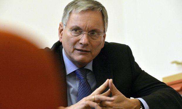 Sozialminister Alois Stöger.