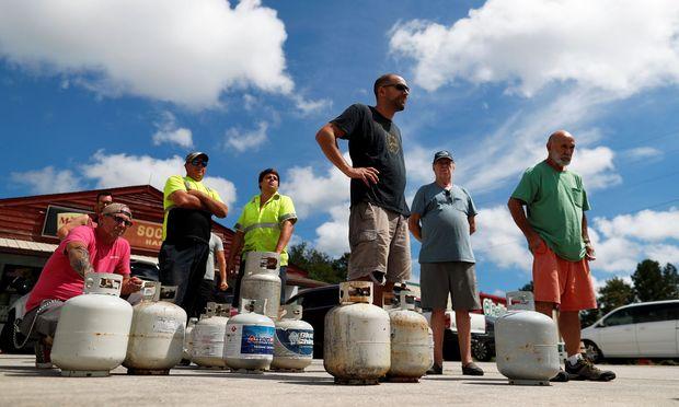 Den Menschen in den beiden Carolinas fehlt die Erfahrung mit starken Hurrikans.