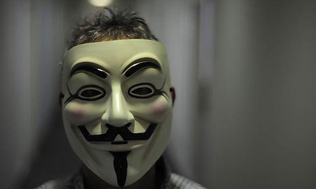 Anonymous plant Protestaktion mehreren