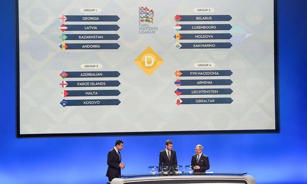 Nations League: Die Schweiz trifft auf Belgien & Island
