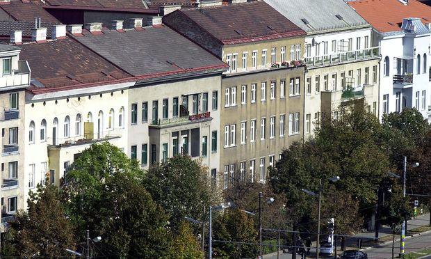 Anhaltende Nachfrage nach Wiener Zinshäusern.