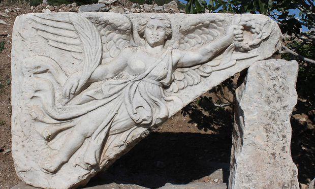 Laut Legende sollen Amazonen den Tempel der Artemis gegründet haben.
