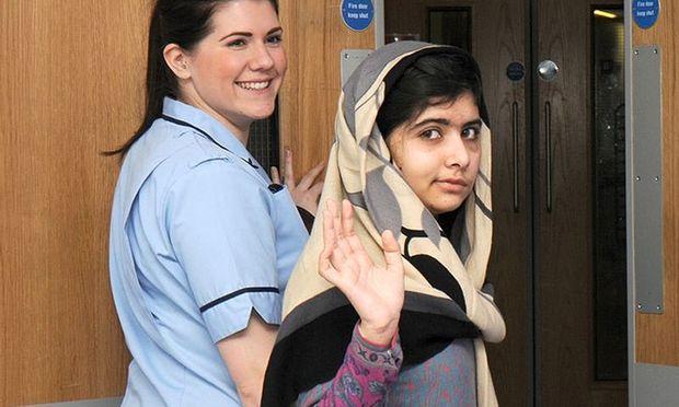 15jaehriges TalibanOpfer Malala Spital