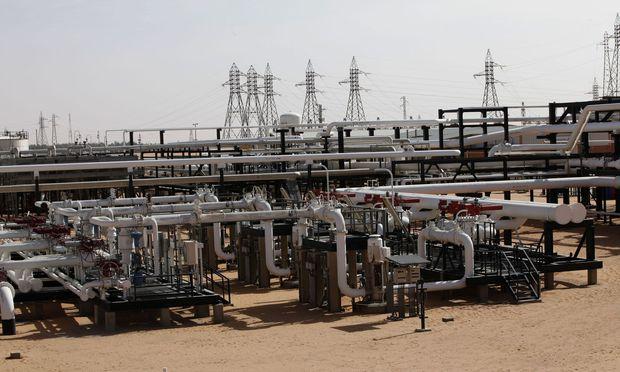 Die Sharara-Ölfelder der OMV werden zurückerobert.