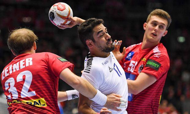 Kein Halten: Österreichs Handballer mussten sich am Samstag bei der WM überraschend Chile geschlagen geben.