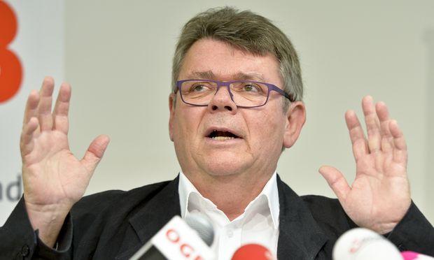 """ÖGB-Chef Wolfgang Katzian rief seine Verhandler zu sich, um den """"heißen Herbst"""" zu planen. Für den Fall des Falles."""