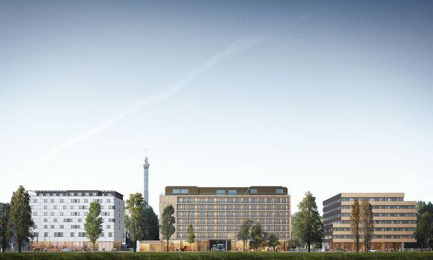 """Die drei Bauteile des Stadtentwicklungsprojekts """"Prater Glacis"""", für das IG Immobilien verantwortlich zeichnet."""