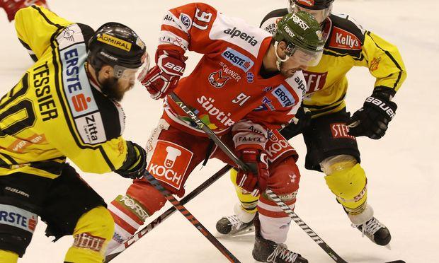 Eishockey: Spielstände im EBEL-Halbfinale