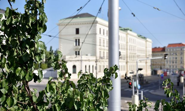 Blick auf das Hauptquartier des BVT in Wien Landstraße (Archivbild)