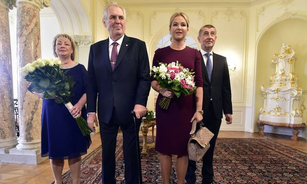 Präsidentenwahl in Tschechien: Zeman gilt als Favorit