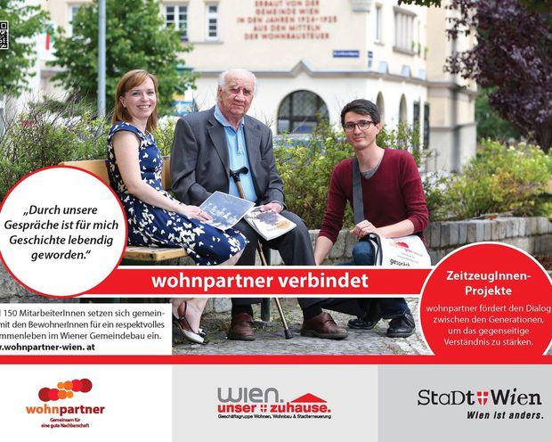 Die Wohnpartner Wien haben die Seniorenrose 2015 gewonnen.