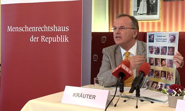 Volksanwalt Günther Kräuter (SPÖ)