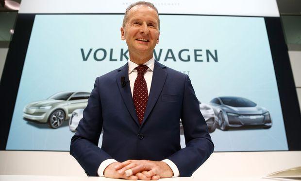Volkswagen-Chef Herbert Diess.