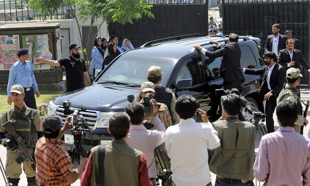 Pakistan ExPraesident Musharraf Flucht