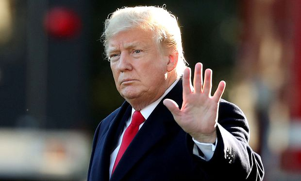 FILE PHOTO: U.S. President Trump departs for Wisconsin from the White House in Washington