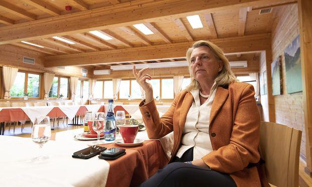 Außen- und Integrationsministerin Karin Kneissl.