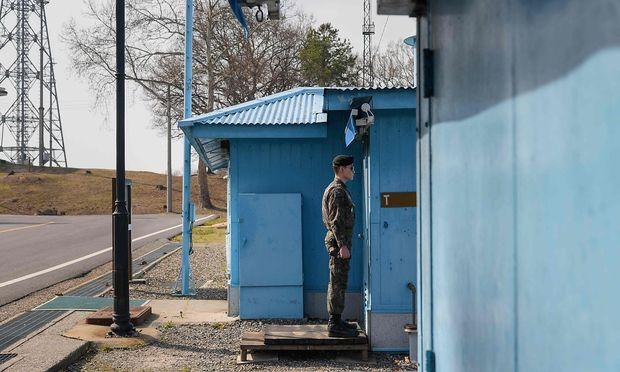 Koreanische Staatschefs richten Hotline ein