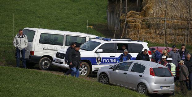 Die Polizei ermittelt in Velika Ivanca.