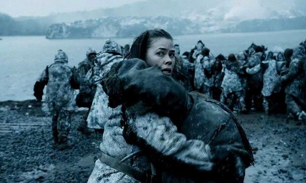 ''Borgen''-Star Birgitte Hjort Sørensen als Wildlings-Frau / Bild: (c) HBO