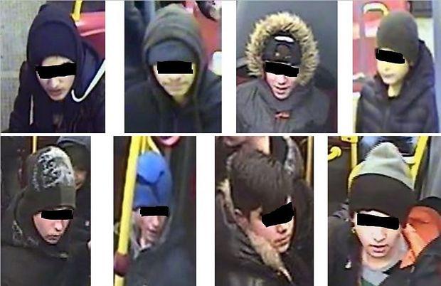 Mit diesen Fotos fahndete die Polizei in Wien nach einer Jugendbande. Die Verdächtigen wurden inzwischen ausgeforscht.