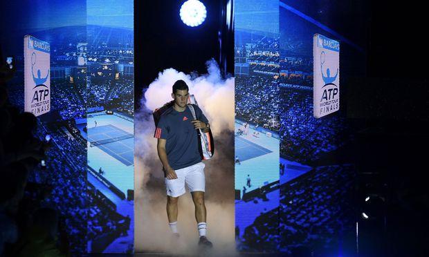 Dominic Thiem betritt in London zum zweiten Mal die große Bühne der World Tour Finals.