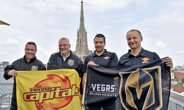 Las Vegas trifft Vienna, und der Steffl schaut geduldig zu.