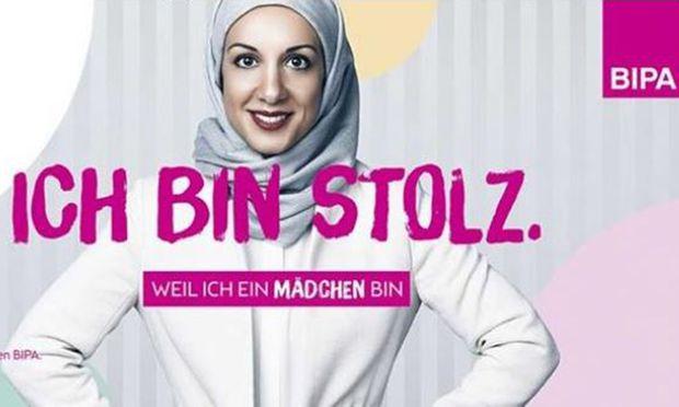 Bipa wirbt in neuer Kampagne mit Kopftuch-Frau