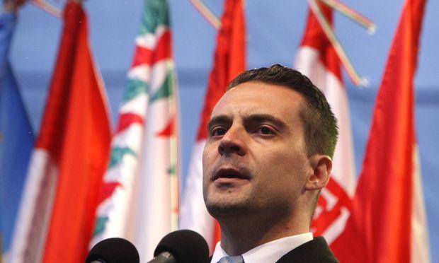 Jobbik-Parteichef Gábor Vona.