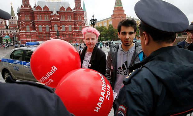 Viele Nawalny-Anhänger in Russland festgesetzt