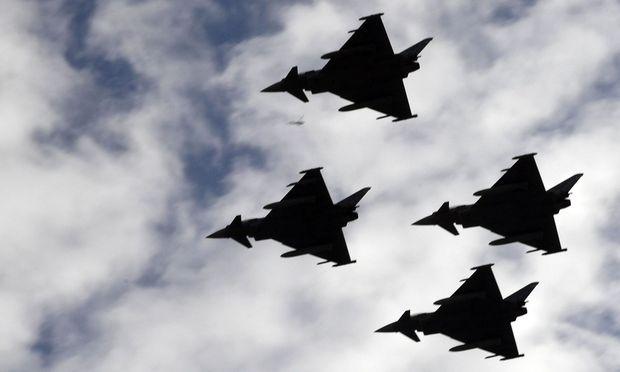 Die Zukunft der Eurofighter ist unklar.
