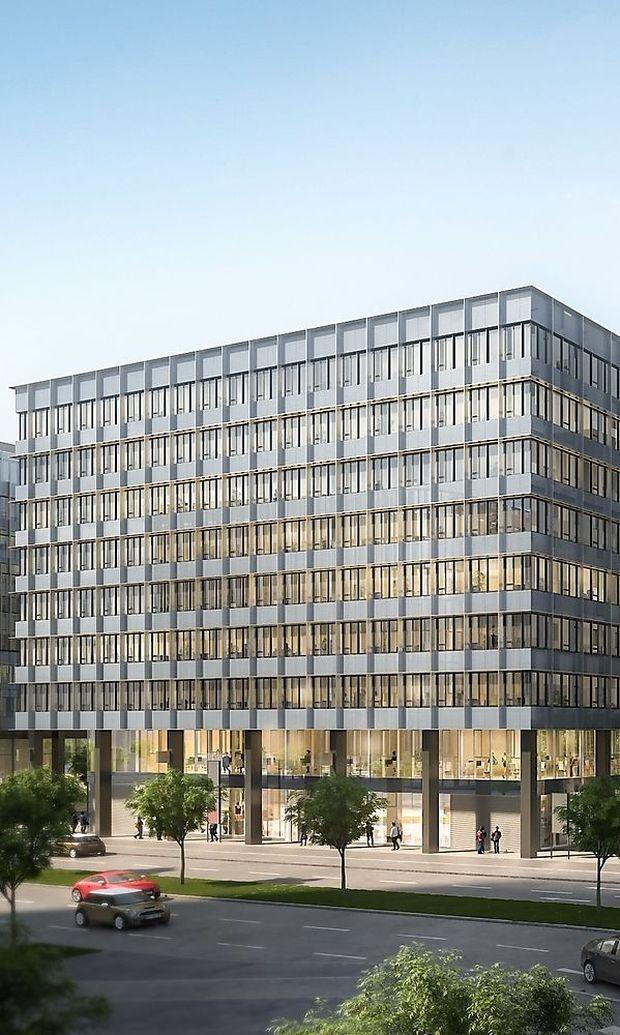 Moderne Gebäude wie das QBC 3 sind meist ökozertifiziert.