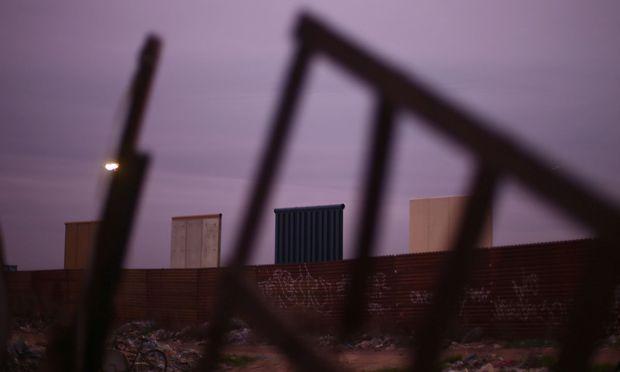 Prototypen der Mauer