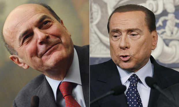 Politikrise Italien Bersani trifft