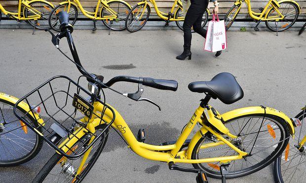 Künftig keine Ofo-Leihräder mehr in Wien