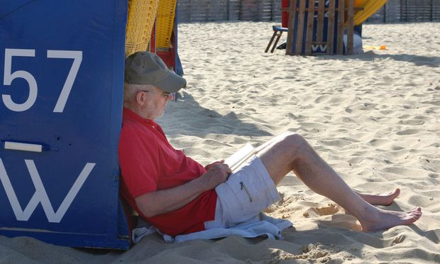 Ruhepause im Schatten - break in the shade