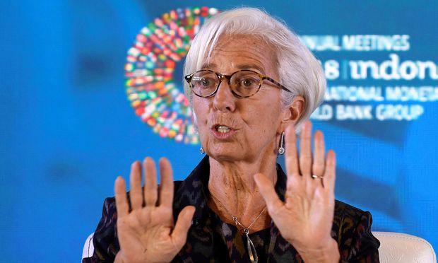 IWF-Chefin Lagarde geht auf Distanz zu Trump