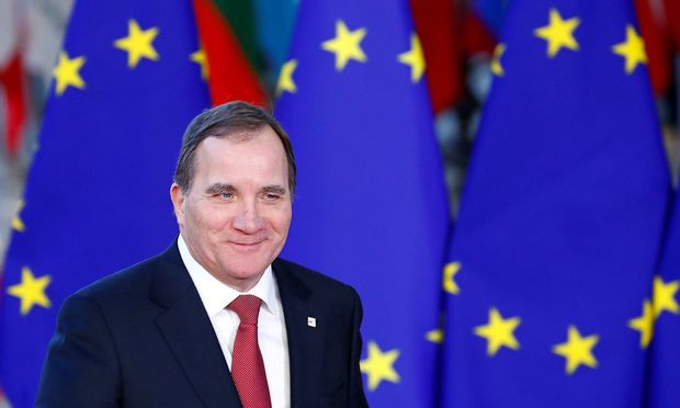 FILE PHOTO: Sweden's Prime Minister Stefan Lofven