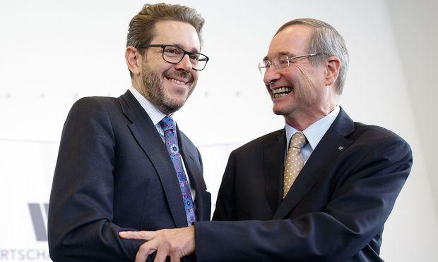 Harald Mahrer und Christoph Leitl