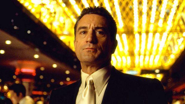 """Robert De Niro als selbstzerstörerischer Profi-Hasardeur in """"Casino""""."""