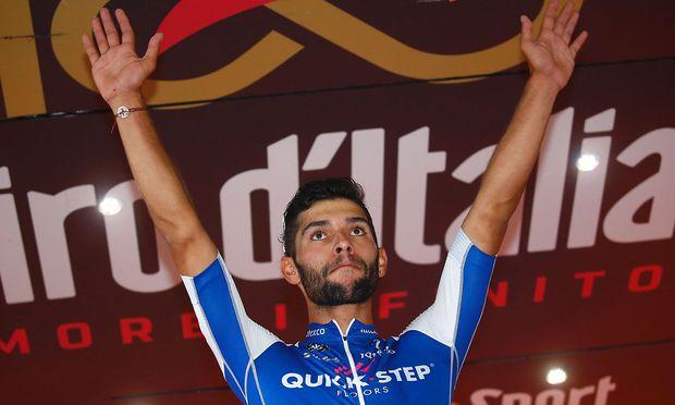 Dritter Etappensieg: Auch längste Giro-Etappe geht an Gaviria