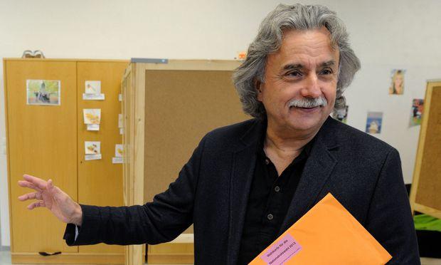 Archivbild: KPÖ PLUS-Spitzenkandidat Mirko Messner