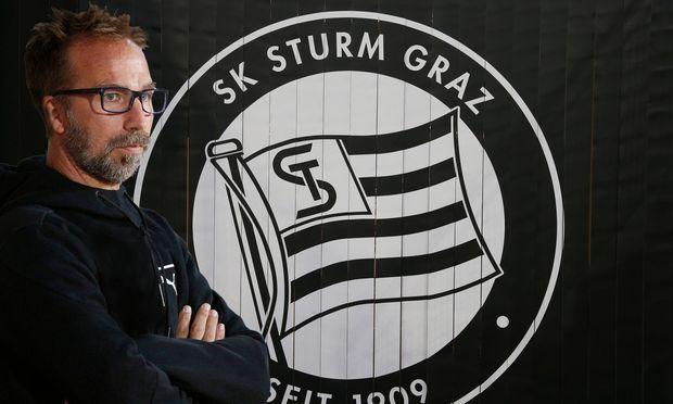SOCCER - BL, Sturm, new head coach