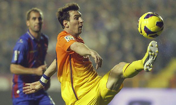 Messi traf erneut doppelt
